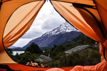 Camping With The View In Torres Del Paine