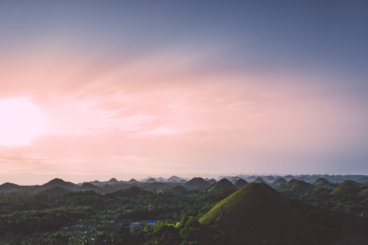 Bohol Chocolate Hills Sunrise